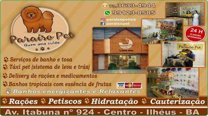 PARAÍSO PET ILHÉUS Bahia