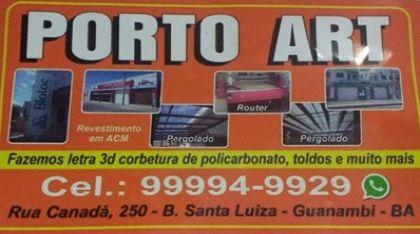 PORTO ART - Guanambi