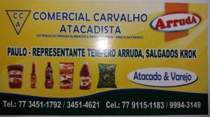 COMERCIAL CARVALHO ATACADISTA Arruda
